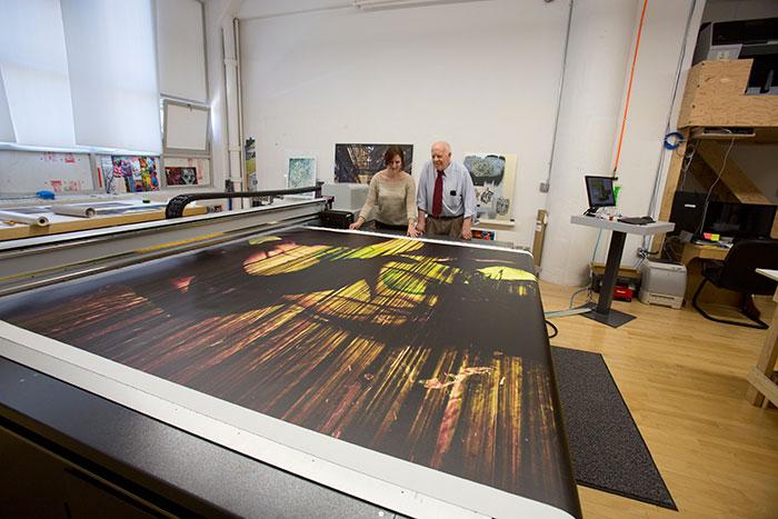 UV art printing