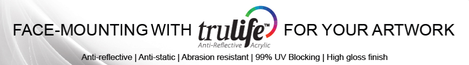 trulife acrylic face mounting
